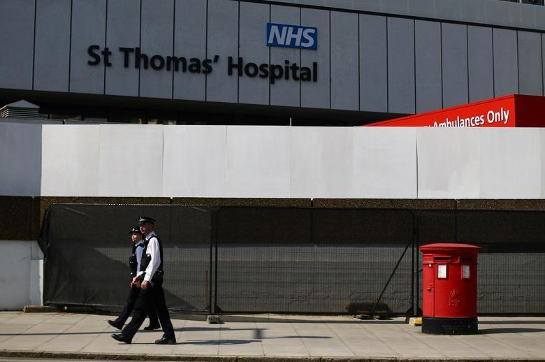 Anh báo động an ninh tại bệnh viện St Thomas ở thủ đô London Ảnh 1