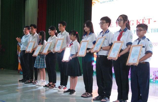 Tổng kết Cuộc thi Sáng tạo Thanh, thiếu niên, nhi đồng tỉnh Đồng Tháp lần thứ 13 năm 2020 Ảnh 1