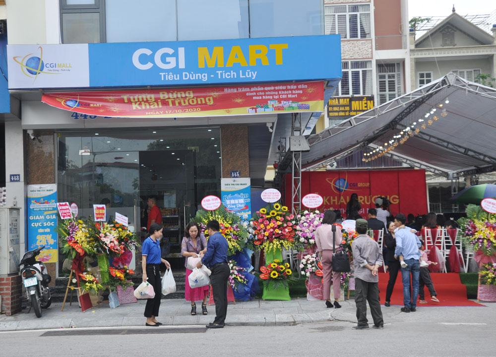 Khai trương siêu thị CGI Mart Hạ Long Ảnh 1