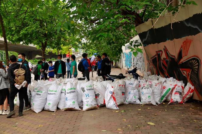 Chiến dịch 'World Cleanup Day 2020' tại Hà Nội Ảnh 5