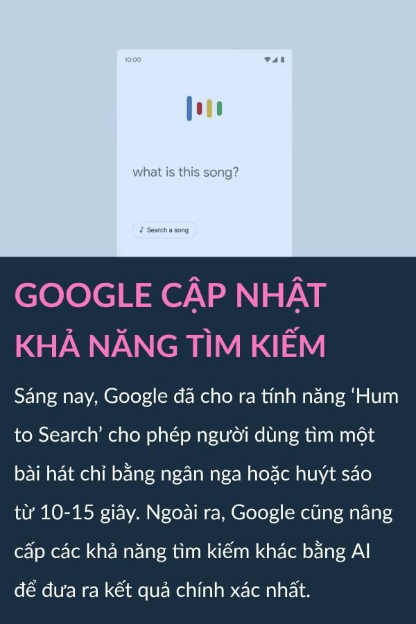 Google cho huýt sáo tìm nhạc, bảo vệ dữ liệu trên thương mại điện tử Ảnh 1
