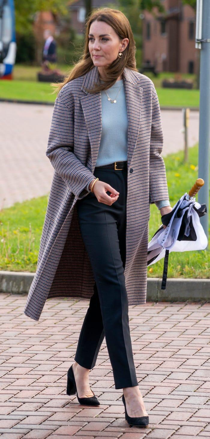 Thời trang áo khoác thanh lịch của công nương Kate Middleton Ảnh 1