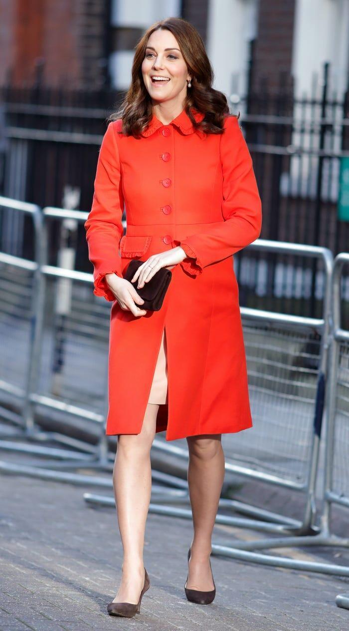 Thời trang áo khoác thanh lịch của công nương Kate Middleton Ảnh 18