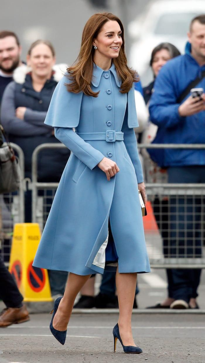 Thời trang áo khoác thanh lịch của công nương Kate Middleton Ảnh 6