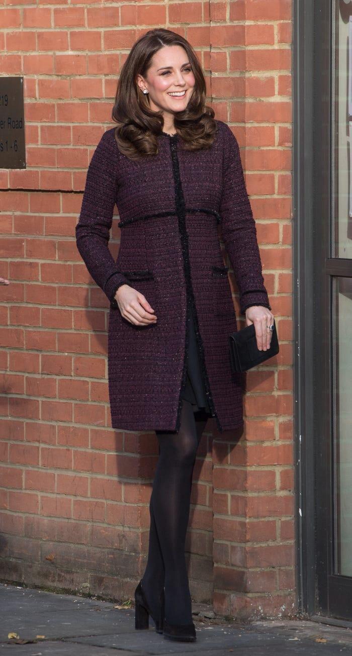 Thời trang áo khoác thanh lịch của công nương Kate Middleton Ảnh 22