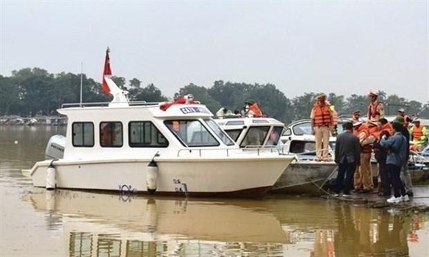 Bộ Công an bàn giao canô công suất lớn cho tỉnh Thừa Thiên-Huế Ảnh 1