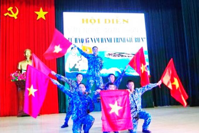 Lữ đoàn 146 Hải quân: Hội diễn văn nghệ quần chúng năm 2020 Ảnh 1