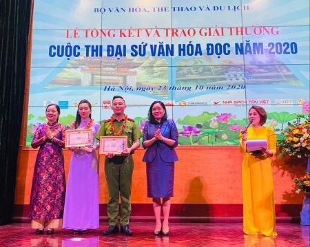 Lan tỏa giá trị tốt đẹp từ cuộc thi 'Đại sứ văn hóa đọc' Ảnh 1