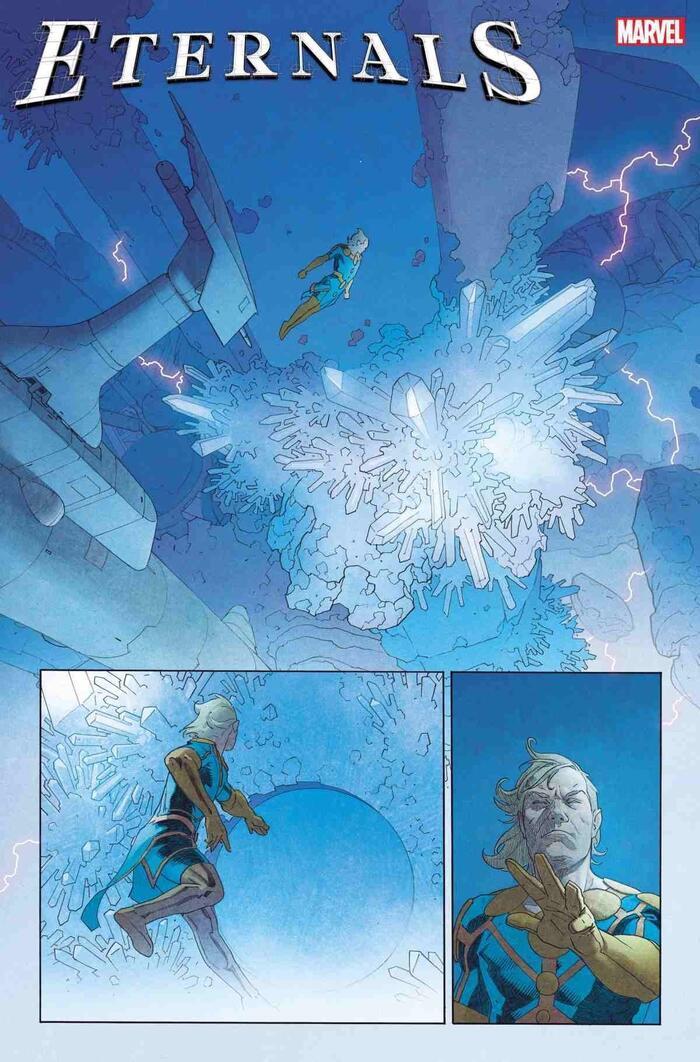 Marvel hé lộ những điều cần biết về chủng tộc thần thánh Eternals Ảnh 8