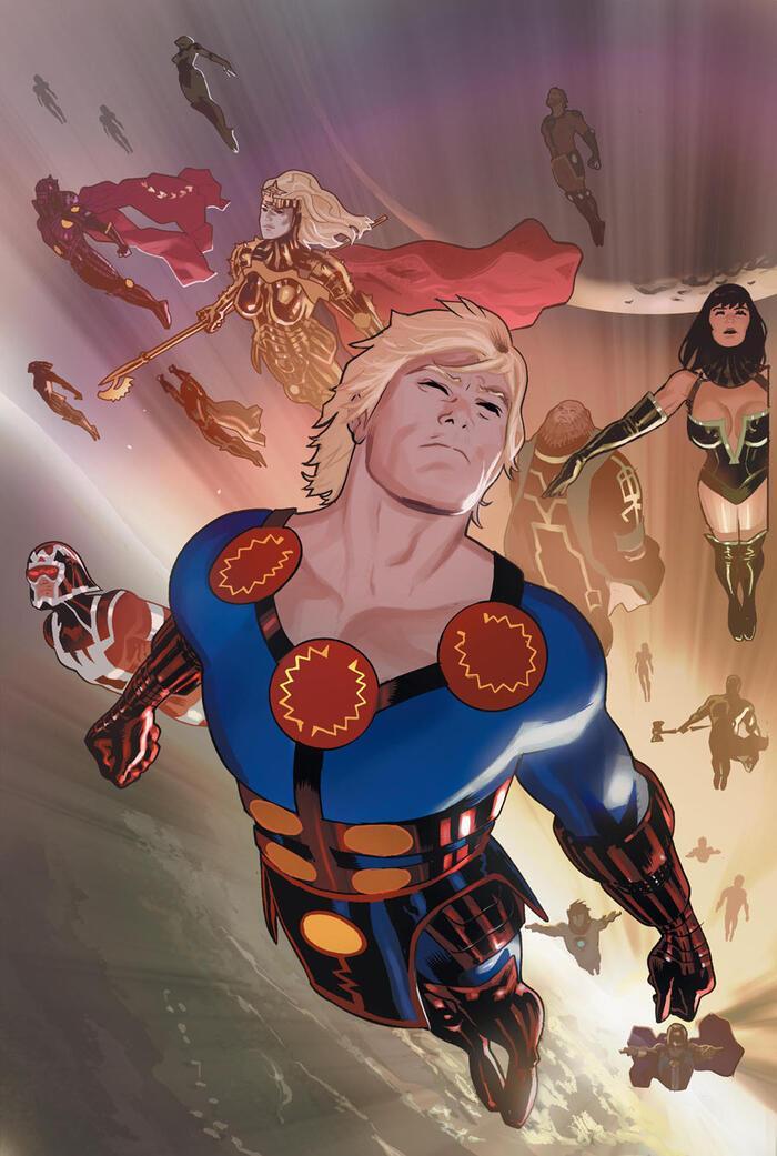 Marvel hé lộ những điều cần biết về chủng tộc thần thánh Eternals Ảnh 4