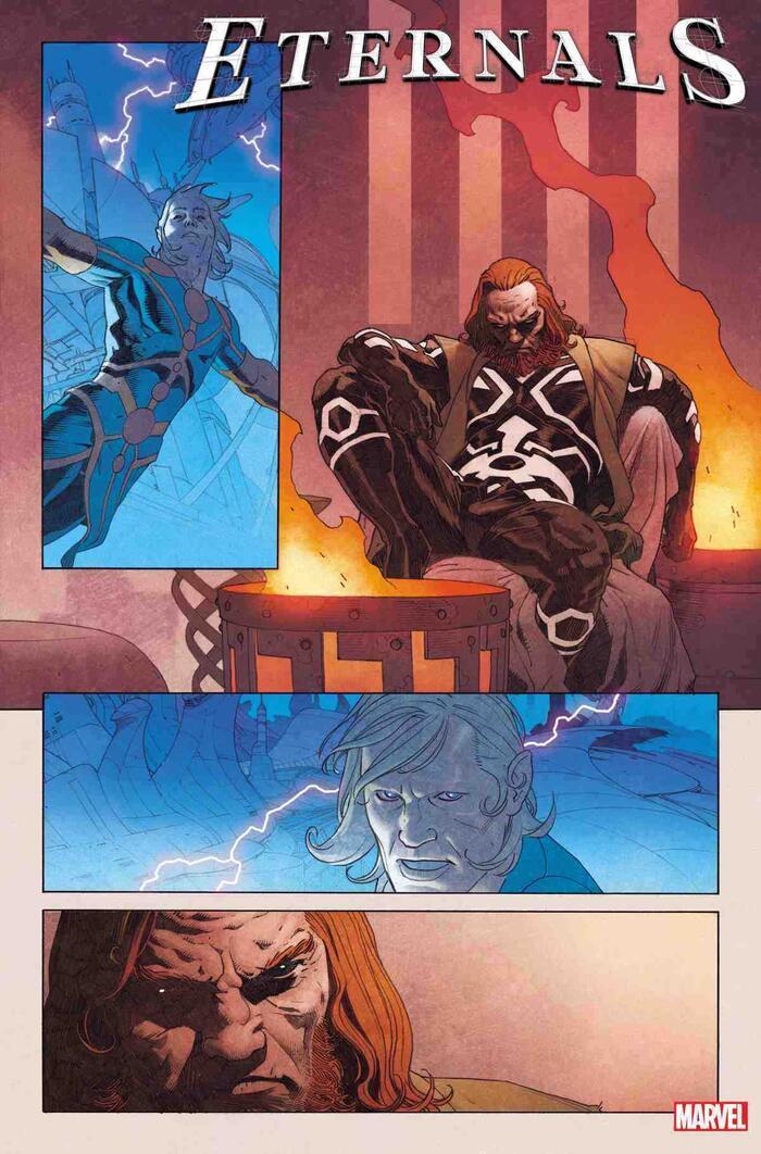 Marvel hé lộ những điều cần biết về chủng tộc thần thánh Eternals Ảnh 3