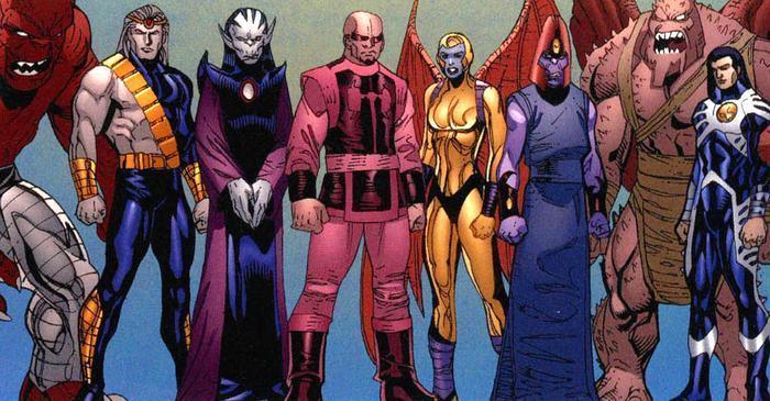 Marvel hé lộ những điều cần biết về chủng tộc thần thánh Eternals Ảnh 10