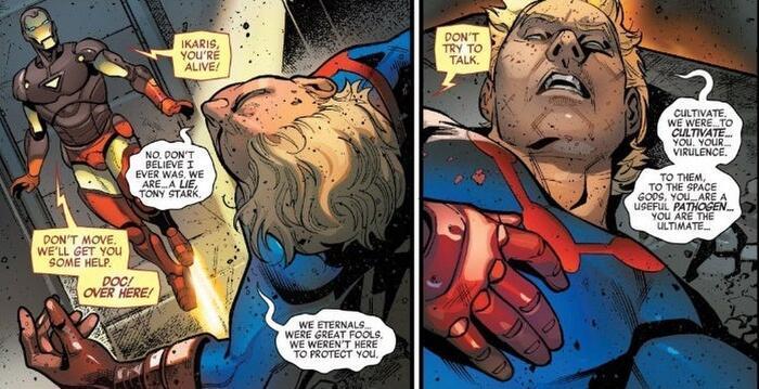 Marvel hé lộ những điều cần biết về chủng tộc thần thánh Eternals Ảnh 5