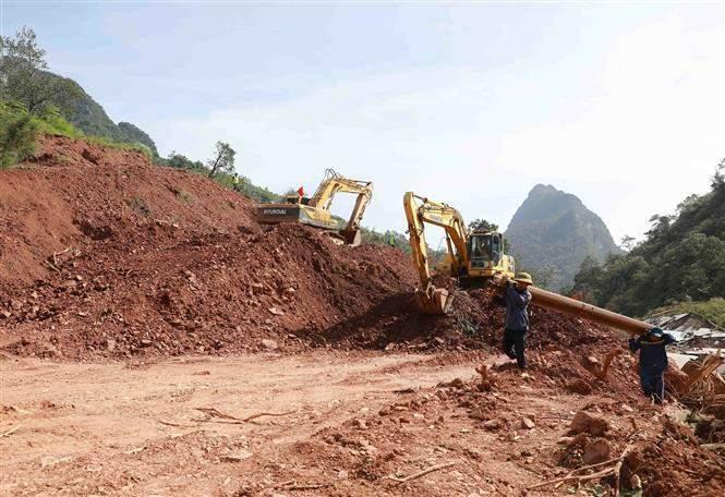 Giao thông Quảng Bình thiệt hại nặng do mưa lũ Ảnh 8