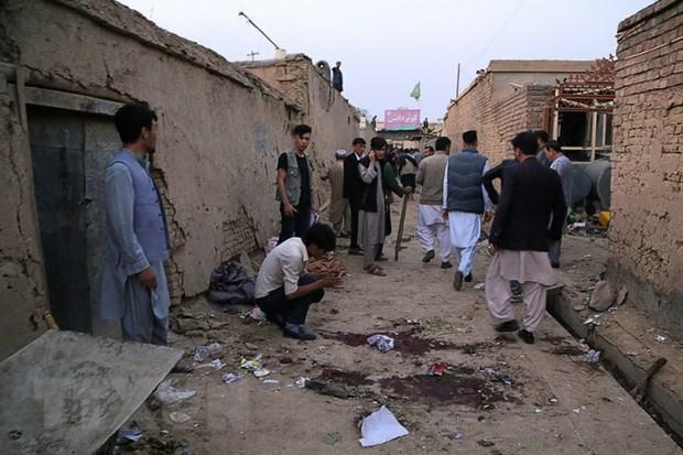 Afghanistan: Đánh bom và đấu súng tại đồn cảnh sát, 2 người thiệt mạng Ảnh 1