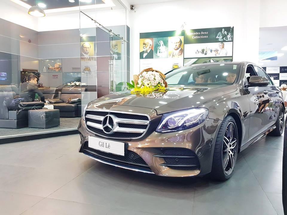Bóc giá xế hộp Mercedes-Benz E300 AMG Gil Lê thường xuyên lái Ảnh 3