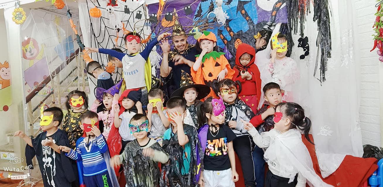 Hà Nội: Trải nghiệm lễ Halloween tại trường Mầm Non Hoa Hướng Dương Ảnh 2