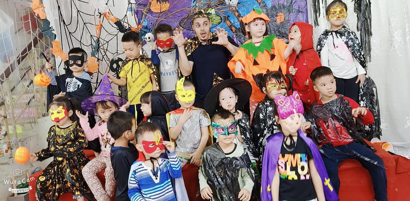 Hà Nội: Trải nghiệm lễ Halloween tại trường Mầm Non Hoa Hướng Dương Ảnh 1