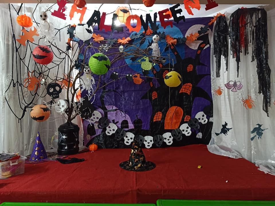 Hà Nội: Trải nghiệm lễ Halloween tại trường Mầm Non Hoa Hướng Dương Ảnh 3