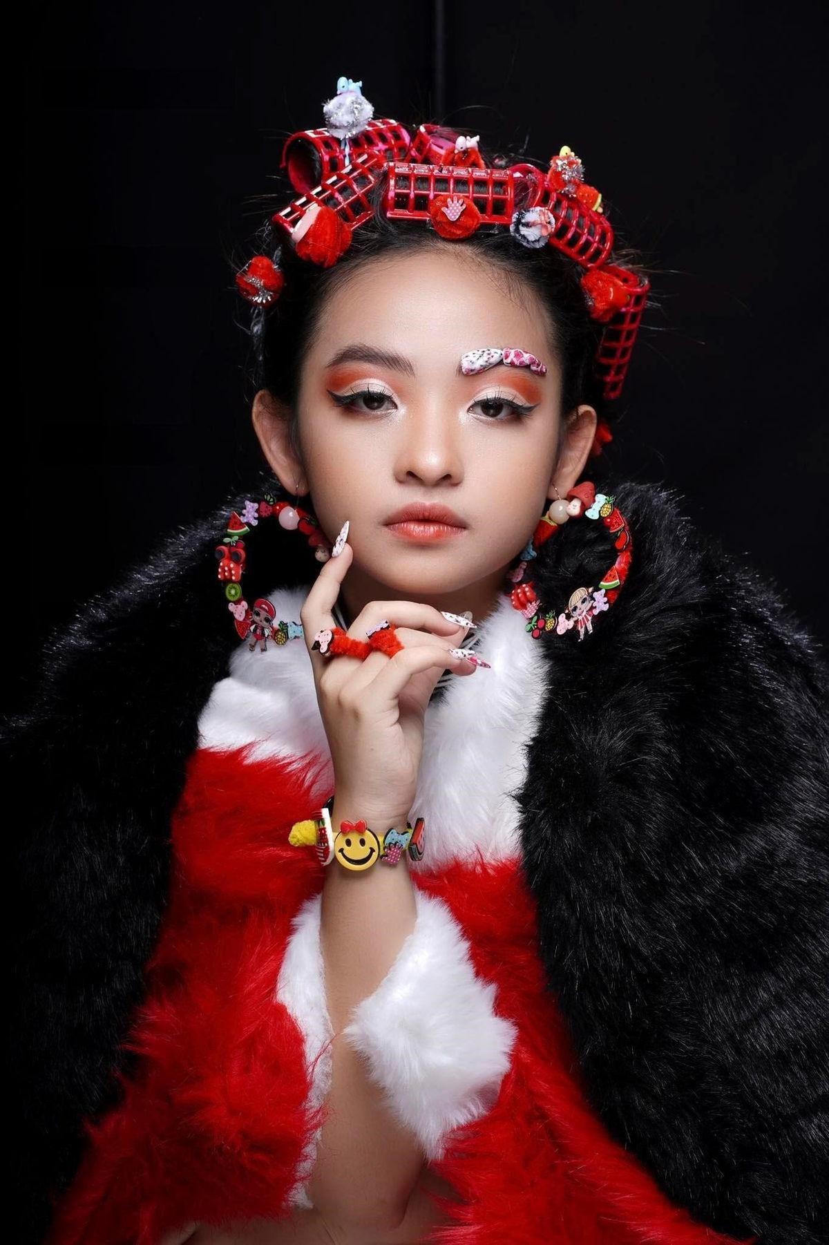 Mẫu nhí Nguyễn Ngọc Khánh Phương khoe thần thái 'đỉnh cao' trong bộ ảnh mới Ảnh 8