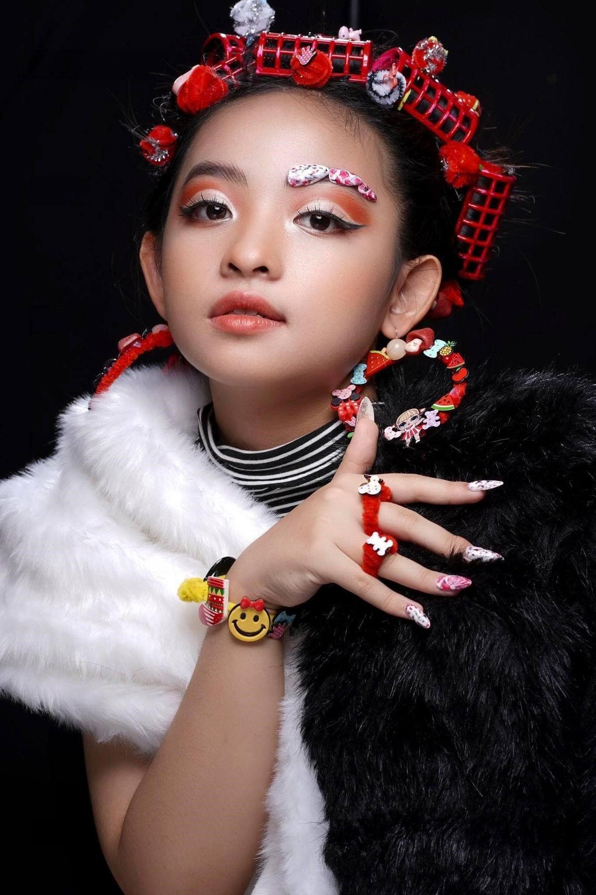 Mẫu nhí Nguyễn Ngọc Khánh Phương khoe thần thái 'đỉnh cao' trong bộ ảnh mới Ảnh 6