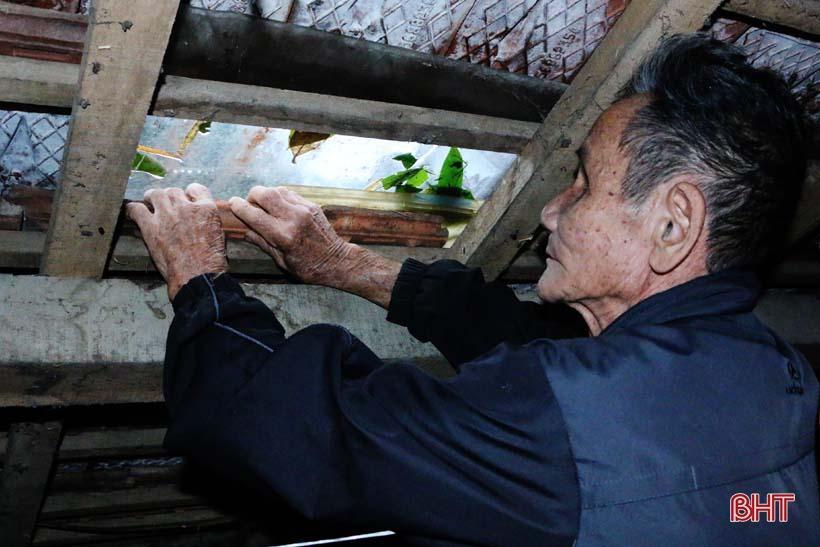 'Nhật ký chạy lũ' của vợ chồng ông lão ngoài 80 tuổi ở Hà Tĩnh Ảnh 14