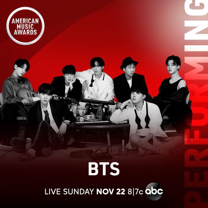 BTS có màn comeback hoành tráng tại American Music Awards 2020 Ảnh 1