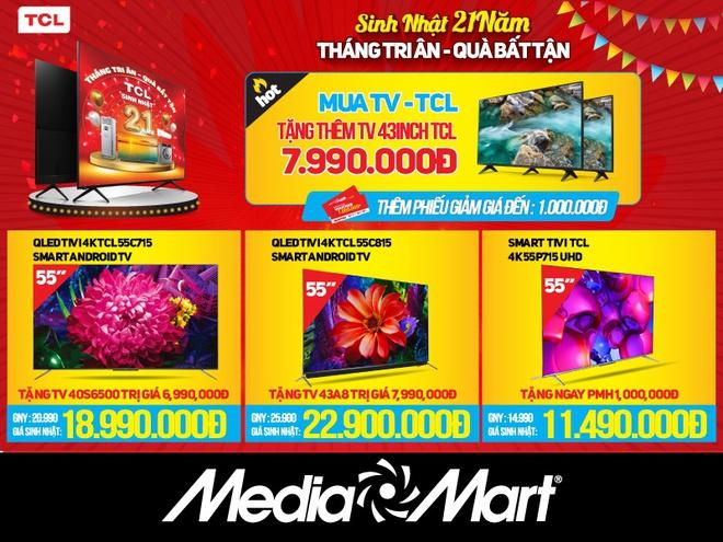 Hết chạy chương trình mua 1 tặng 1, hàng loạt TV đắt tiền lại giảm giá tới 50% Ảnh 2