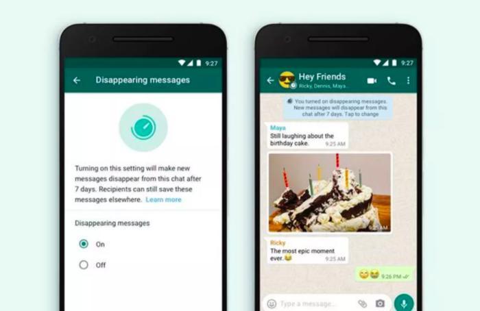 WhatsApp có thêm tính năng tin nhắn tự hủy nhưng không nhanh như bạn nghĩ Ảnh 1