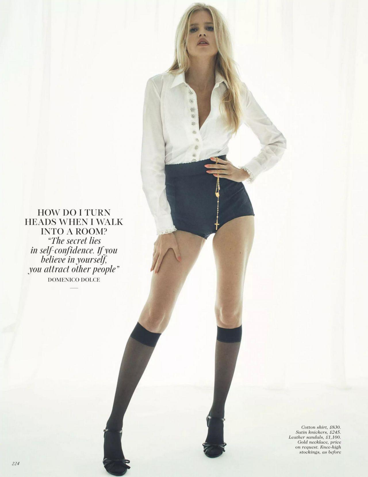 'Siêu mẫu nội y nóng bỏng nhất thế giới' khoe sắc vóc gợi cảm hút hồn trên tạp chí Ảnh 4