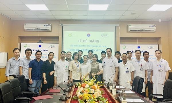 Các khóa đào tạo chuyển giao kỹ thuật thuộc Dự án Bệnh viện vệ tinh 2020 được tổ chức thành công tại Bệnh viện Hữu nghị Việt Đức Ảnh 1