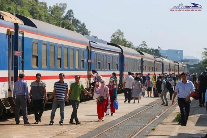 Đường sắt Sài Gòn mở bán 8.000 vé tàu với giá ưu đãi Ảnh 1