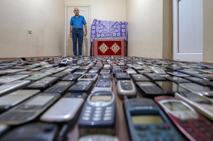 Người đàn ông dành 20 năm sưu tập hàng nghìn chiếc điện thoại cổ Ảnh 5