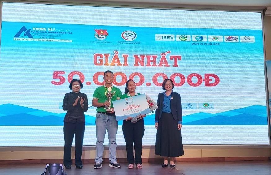 Dự án Mật hoa dừa Sokfarm xuất sắc đạt giải nhất Ảnh 1