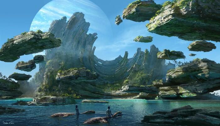 'Avatar 2': Không chỉ quay trở lại hành tinh Pandora mà còn khám phá thêm những vùng đất mới. Ảnh 2
