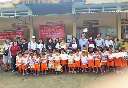 Ngành học mầm non tỉnh Khánh Hòa hỗ trợ các cơ sở giáo dục mầm non miền Trung bị bão lụt Ảnh 10