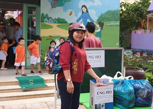Ngành học mầm non tỉnh Khánh Hòa hỗ trợ các cơ sở giáo dục mầm non miền Trung bị bão lụt Ảnh 3