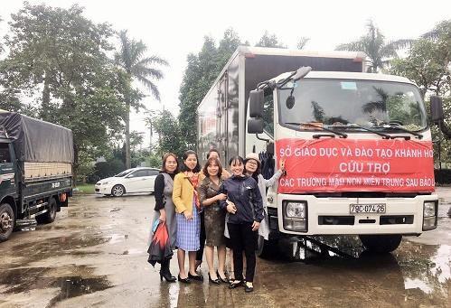 Ngành học mầm non tỉnh Khánh Hòa hỗ trợ các cơ sở giáo dục mầm non miền Trung bị bão lụt Ảnh 9