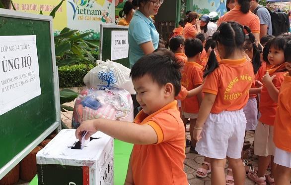 Ngành học mầm non tỉnh Khánh Hòa hỗ trợ các cơ sở giáo dục mầm non miền Trung bị bão lụt Ảnh 4