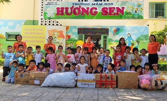 Ngành học mầm non tỉnh Khánh Hòa hỗ trợ các cơ sở giáo dục mầm non miền Trung bị bão lụt Ảnh 1
