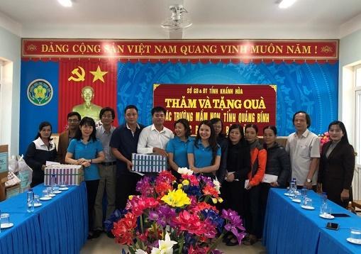 Ngành học mầm non tỉnh Khánh Hòa hỗ trợ các cơ sở giáo dục mầm non miền Trung bị bão lụt Ảnh 11