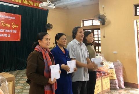 Ngành học mầm non tỉnh Khánh Hòa hỗ trợ các cơ sở giáo dục mầm non miền Trung bị bão lụt Ảnh 12