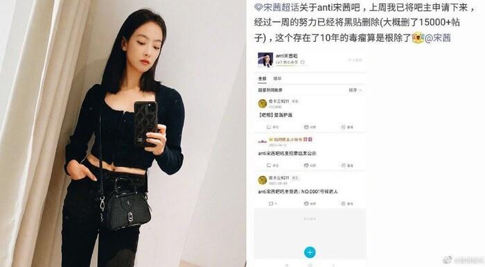 Sau 10 năm nằm vùng trong nhóm anti, fan Tống Thiến thành công với âm mưu xóa bỏ 15000 bài post chửi idol Ảnh 2