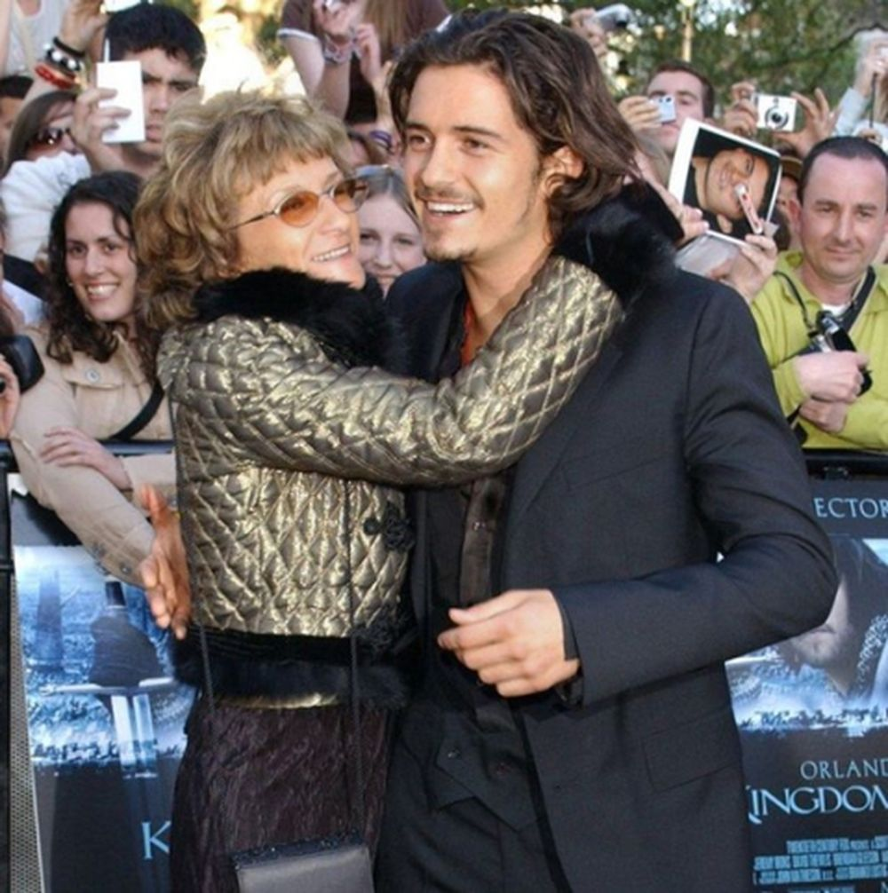 Image result for orlando bloom and his mother