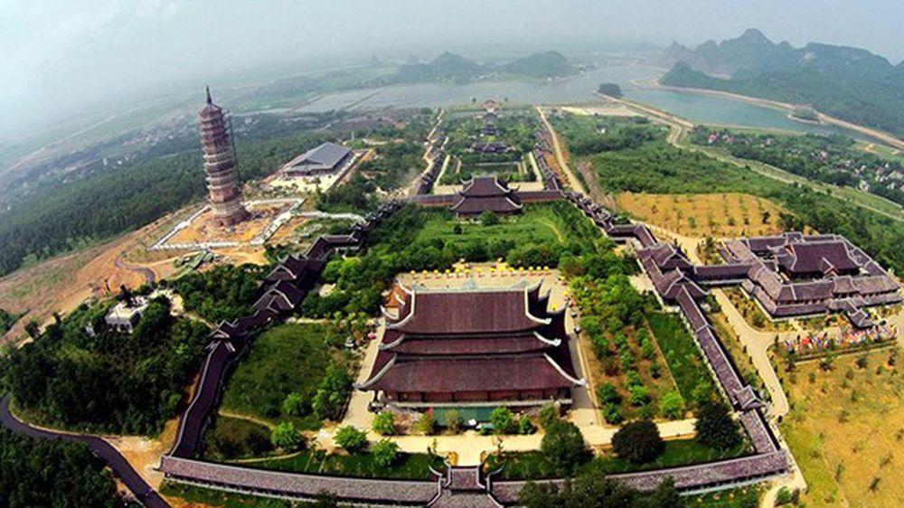 Image result for chùa bái đính to đùng