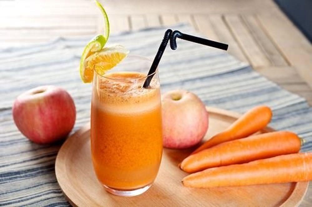 nước ép cà rốt táo nước ép 5 công thức nước ép trái cây đơn giản cho bữa sáng tươi trẻ 2 34395