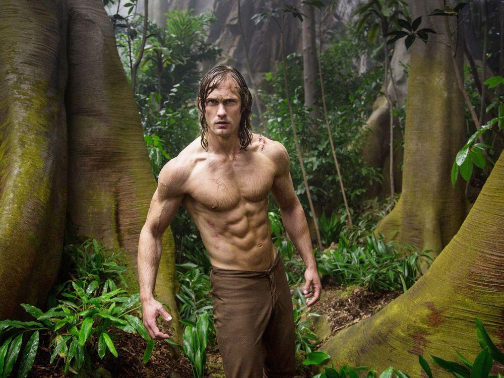 Hành trình gian khổ đi tìm 'cơ bắp hoàn hảo' của chàng Tarzan mới Alexander  Skarsgård