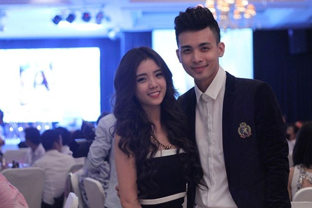 Lâm Á Hân và Minh Tú từng là cặp đôi được nhiều bạn trẻ yêu thích. Ảnh  Facebook nhân vật.
