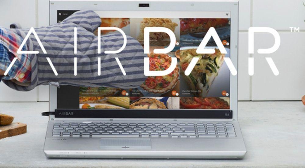 Theo thông tin từ nhà sản xuất Neonode đến từ Thụy Sĩ, AirBar sẽ tương  thích tốt trên notebook ChromebookTM, máy tính sử dụng Mac OSX (máy Mac) và  PC chạy ...