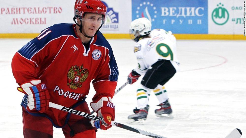 Kết quả hình ảnh cho Tổng thống Putin chỉ trích trọng tài vì hockey Nga thua Mỹ